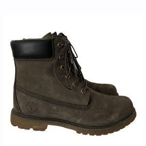 "Timberland 6"" Internal Wedge Waterproof Gray Boot"